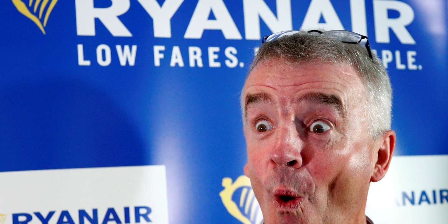 Ryanair : « Quand Michael O'Leary coupe son avion en quatre »