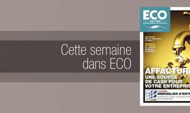 Votre magazine ECO de l'Ain du 8 juin 2017
