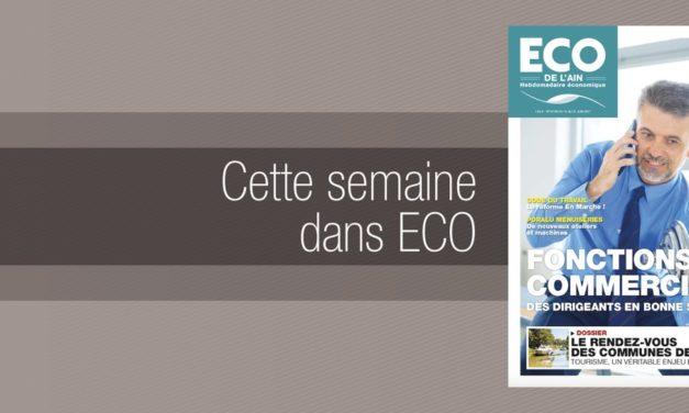 Votre magazine ECO de l'Ain du 15 juin 2017
