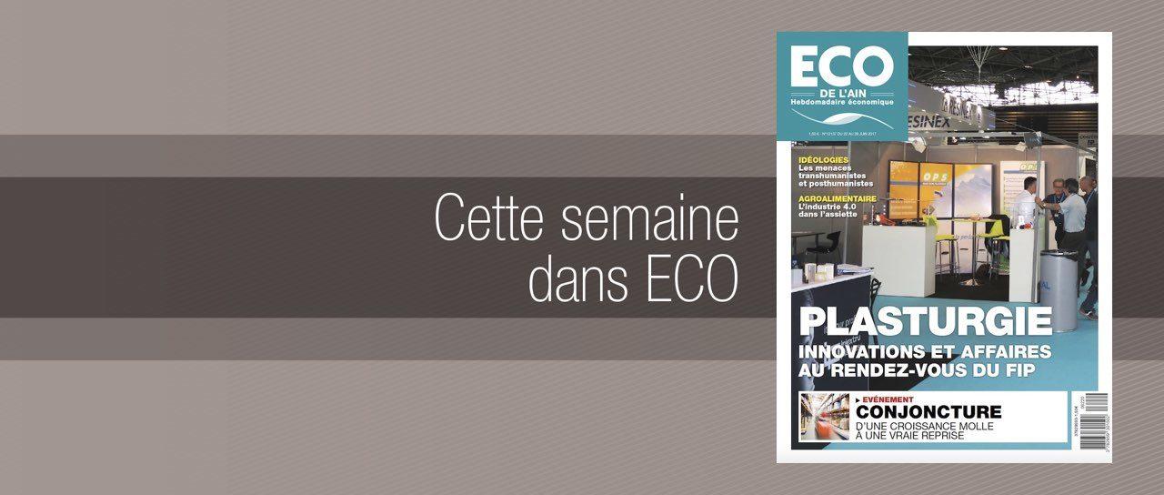 Votre magazine ECO de l'Ain du 22 juin 2017