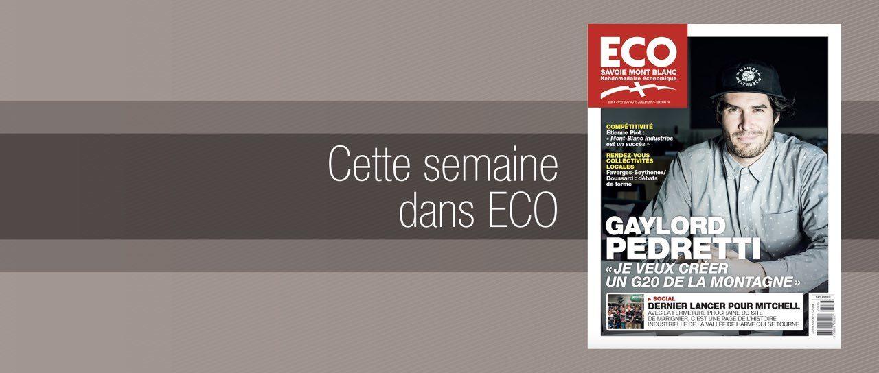 Votre magazine ECO Savoie Mont Blanc du 7 juillet 2017