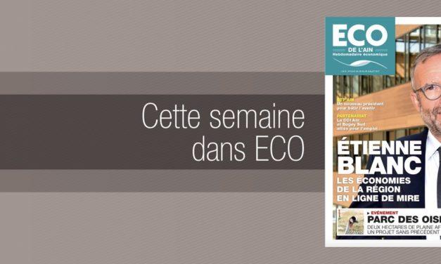 Votre magazine ECO de l'Ain du 20 juillet 2017