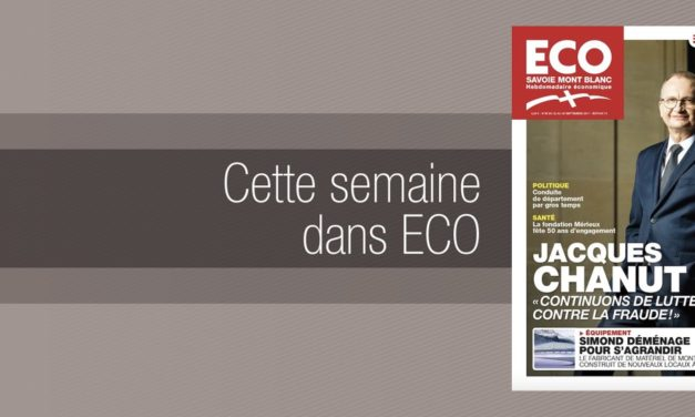 Votre magazine ECO Savoie Mont Blanc du 22 septembre 2017