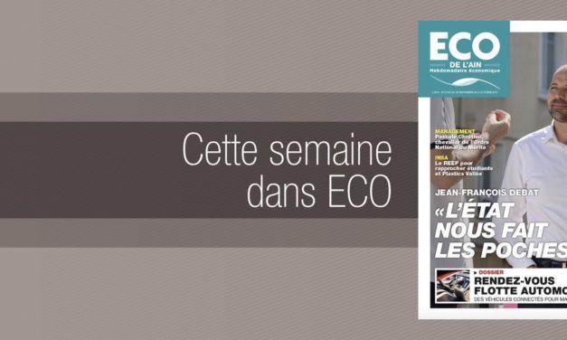 Votre magazine ECO de l'Ain du 28 septembre 2017