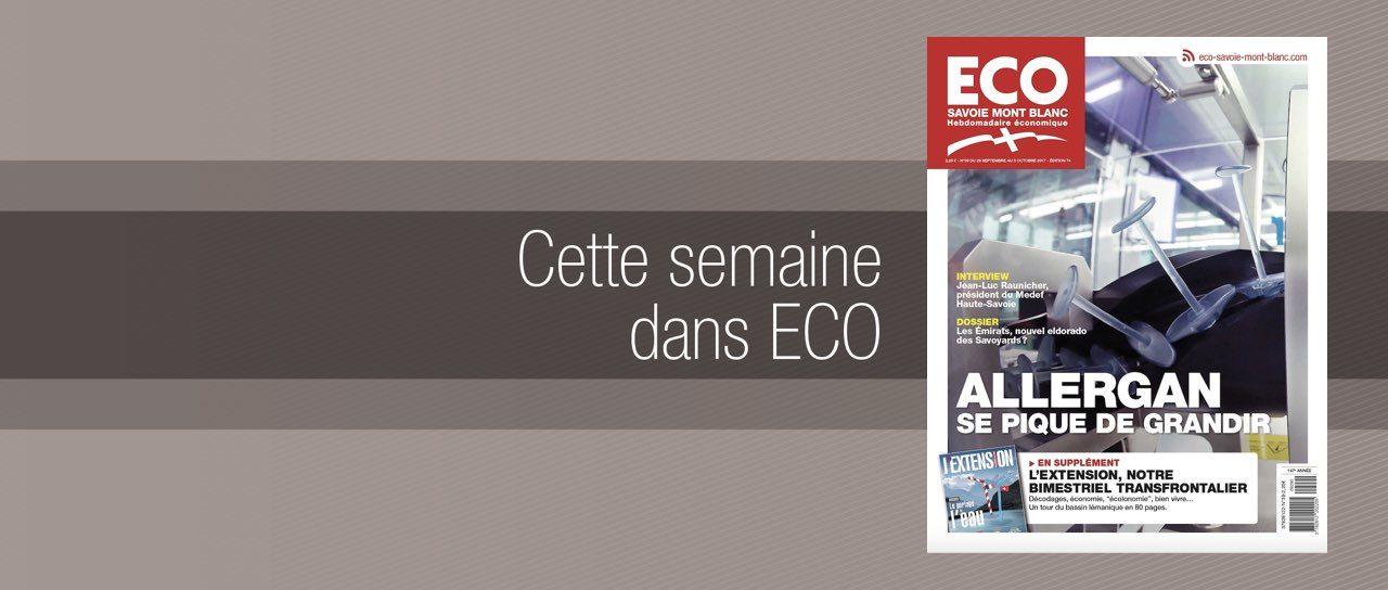 Votre magazine ECO Savoie Mont Blanc du 29 septembre 2017