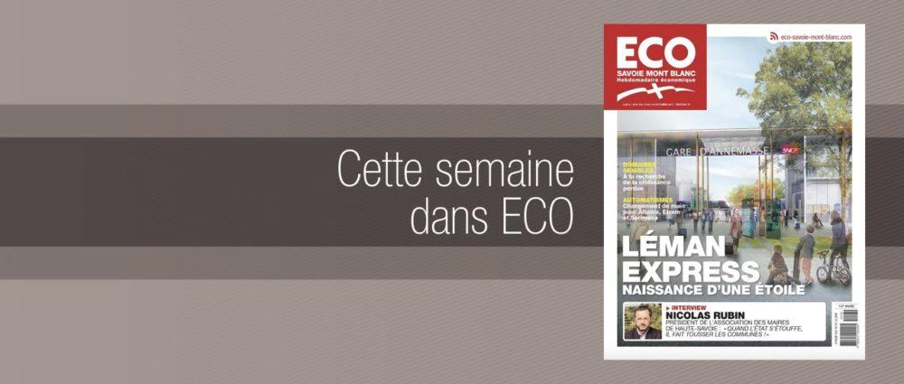 Votre magazine ECO Savoie Mont Blanc du 13 octobre 2017