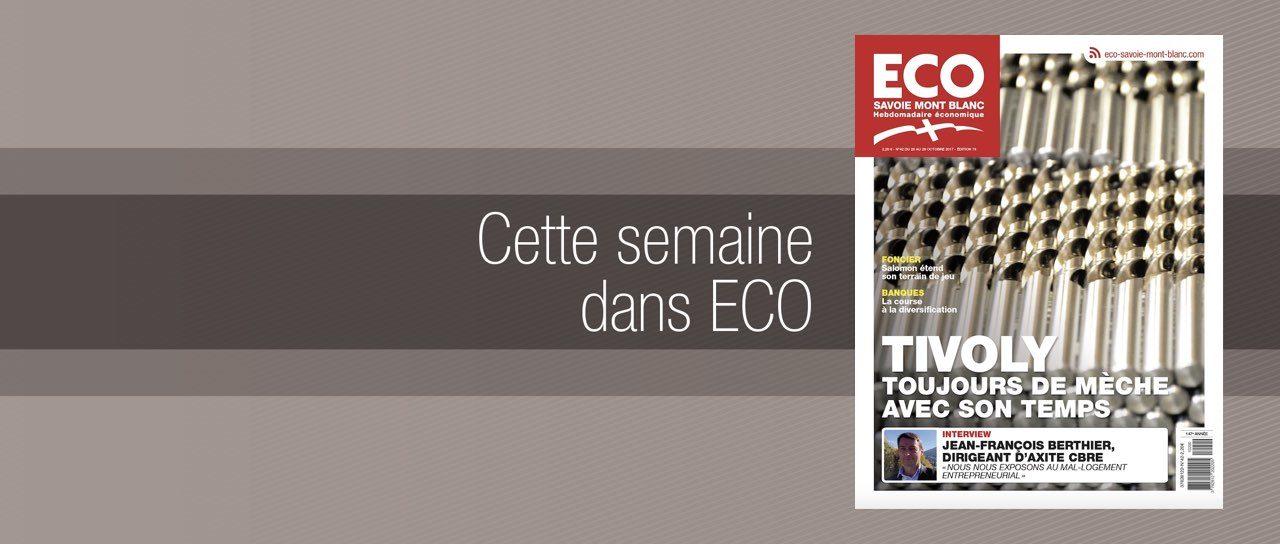 Votre magazine ECO Savoie Mont Blanc du 20 octobre 2017