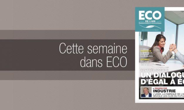 Votre magazine ECO de l'Ain du 12 octobre 2017