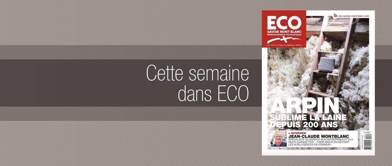 Votre magazine ECO Savoie Mont Blanc du 27 octobre 2017