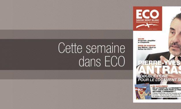 Votre magazine ECO Savoie Mont Blanc du 6 octobre 2017