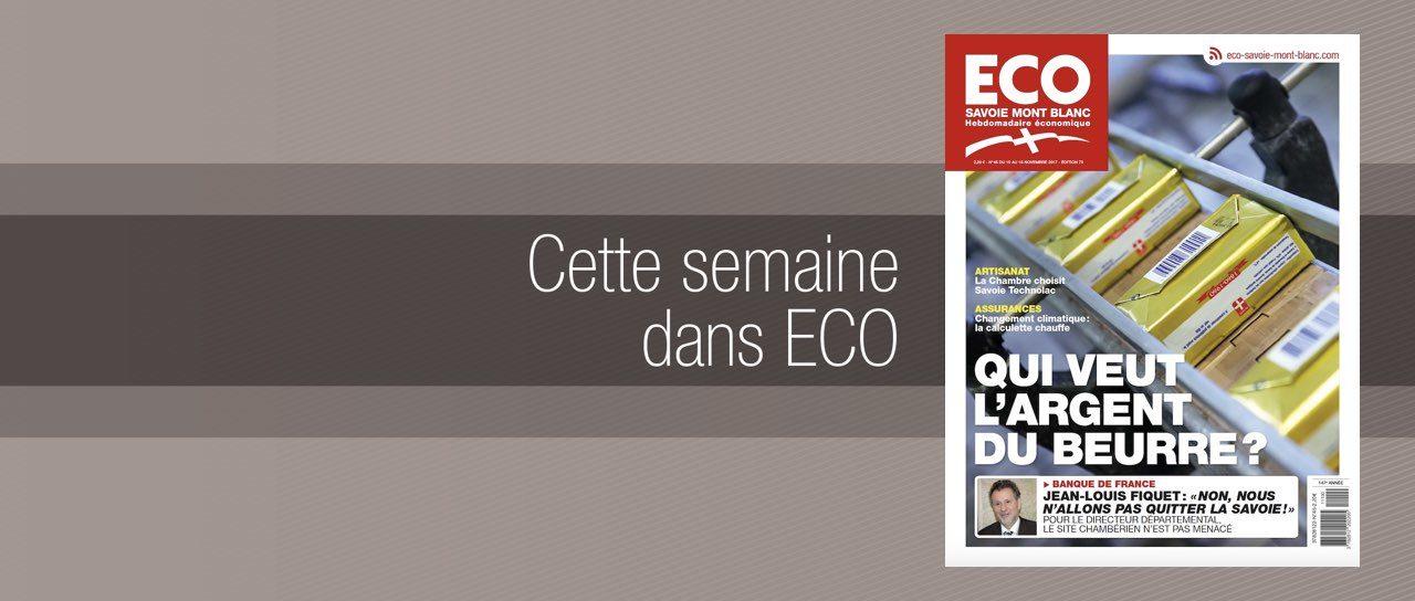 Votre magazine ECO Savoie Mont Blanc du 10 novembre 2017