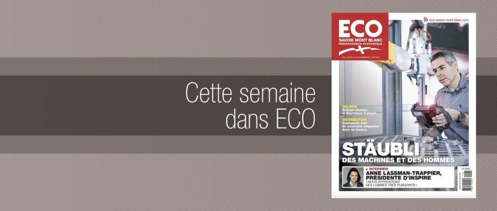 Votre magazine ECO Savoie Mont Blanc du 17 novembre 2017