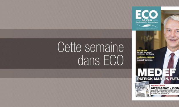 Votre magazine ECO de l'Ain du 30 novembre 2017