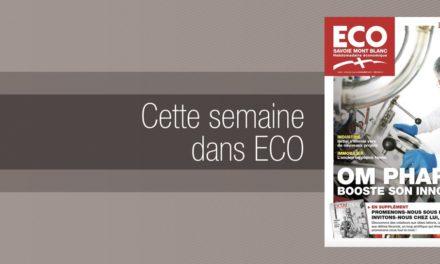 Votre magazine ECO Savoie Mont Blanc du 3 novembre 2017