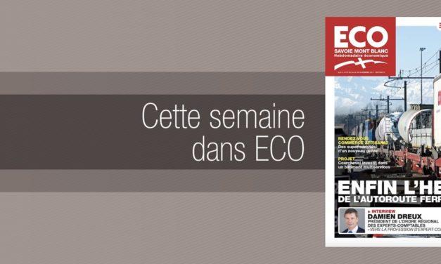 Votre magazine ECO Savoie Mont Blanc du 24 novembre 2017