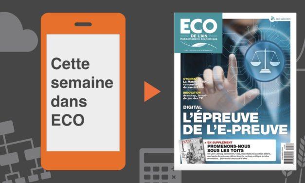 Votre magazine ECO de l'Ain du 23 novembre 2017