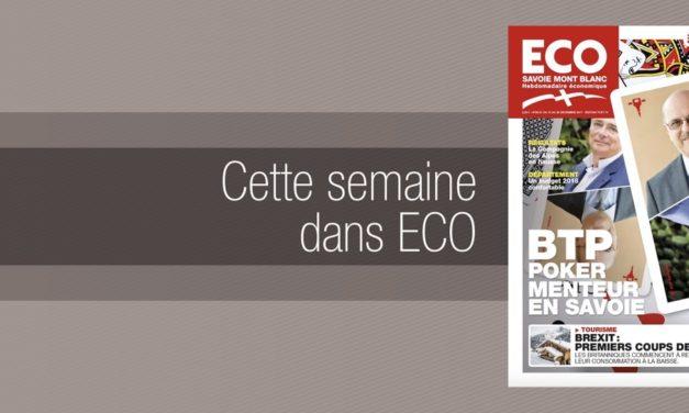 Votre magazine ECO Savoie Mont Blanc du 15 décembre 2017