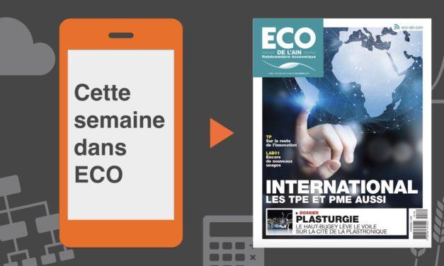 Votre magazine ECO de l'Ain du 14 décembre 2017