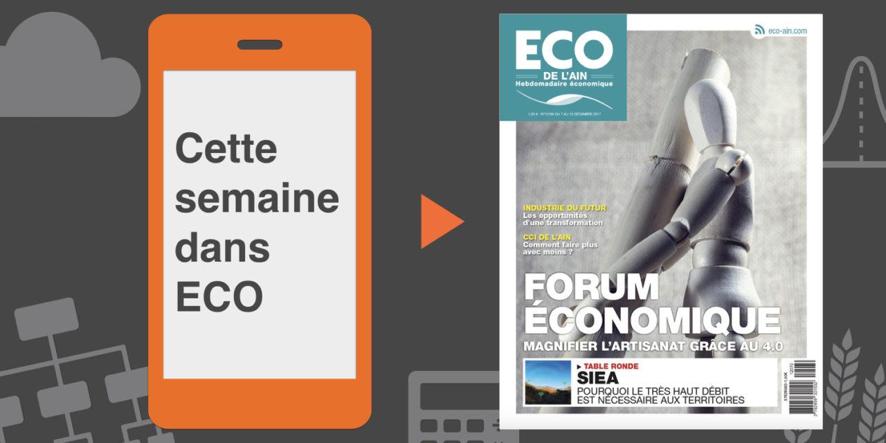 Votre magazine ECO de l'Ain du 7 décembre 2017