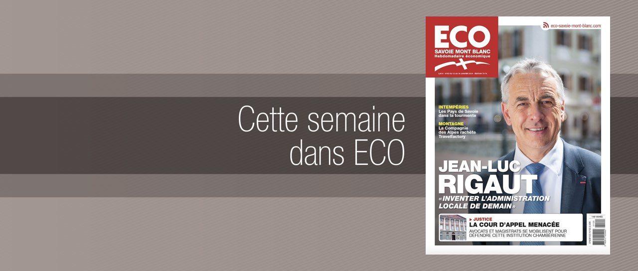 Votre magazine ECO Savoie Mont Blanc du 12 janvier 2018