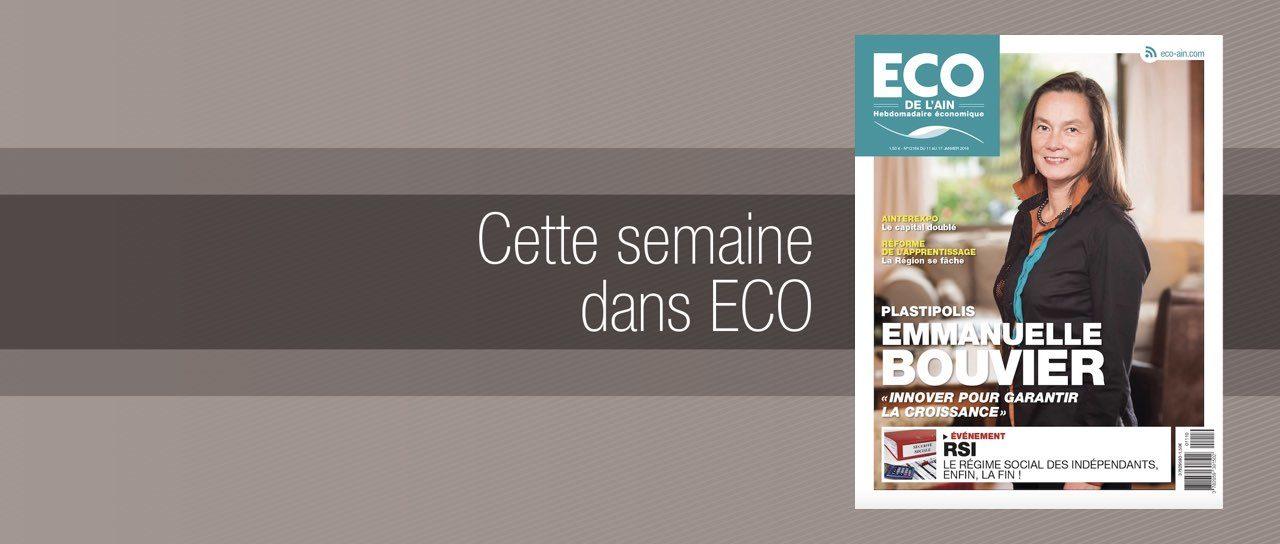 Votre magazine ECO de l'Ain du 11 janvier 2018