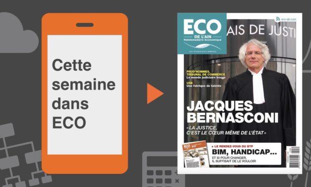 Votre magazine ECO de l'Ain du 25 janvier 2018