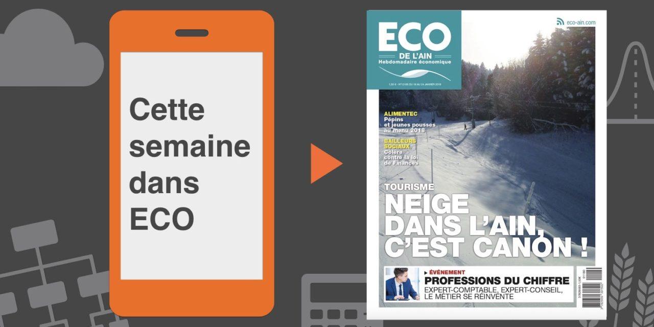 Votre magazine ECO de l'Ain du 18 janvier 2018