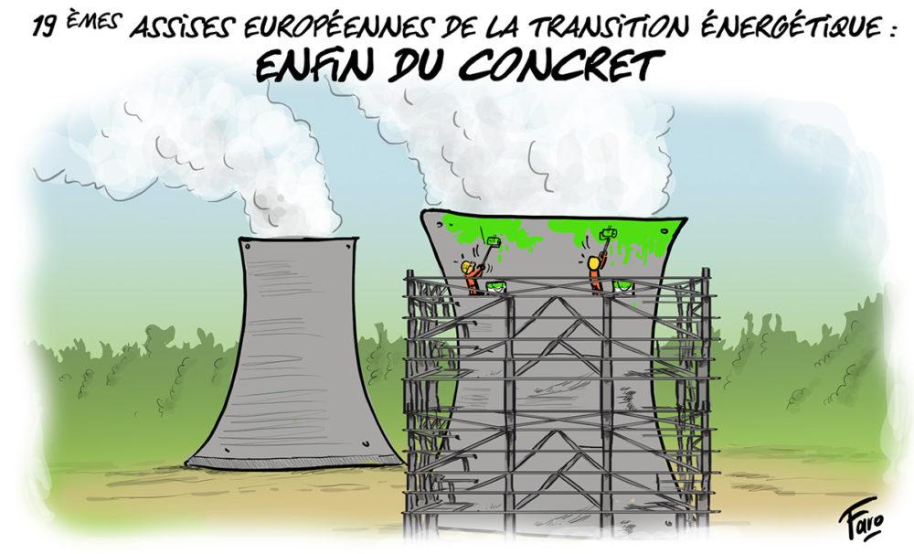 Les assises de la transition énergétique vues par Faro