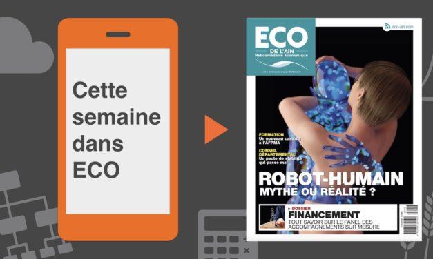 Votre magazine ECO de l'Ain du 15 février 2018