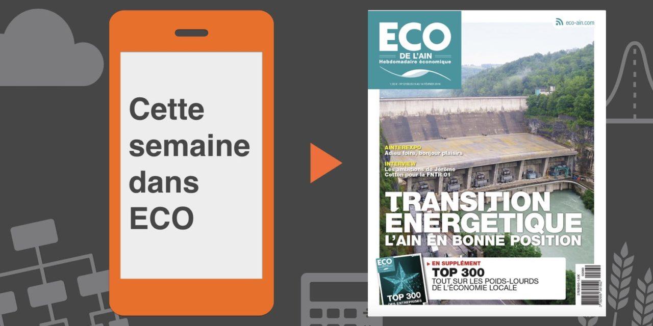Votre magazine ECO de l'Ain du 8 février 2018