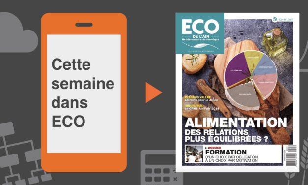 Votre magazine ECO de l'Ain du 1er février 2018