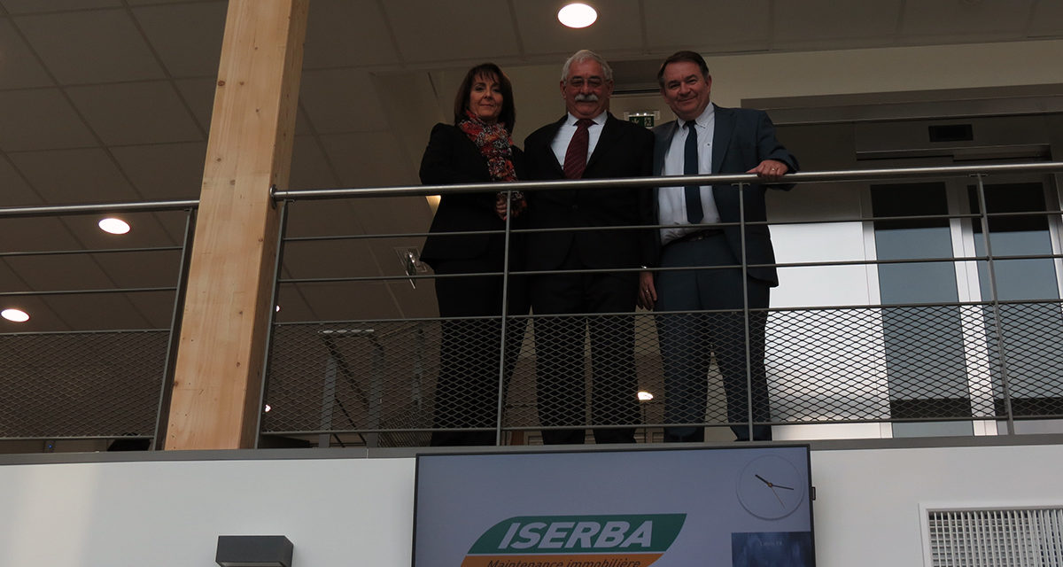 Iserba choisit Beynost pour son siège national