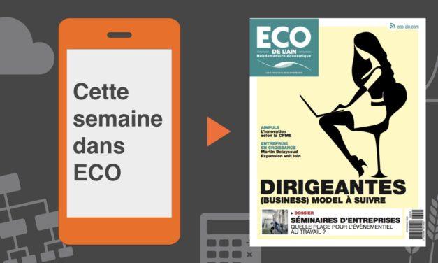 Votre magazine ECO de l'Ain du 22 mars 2018
