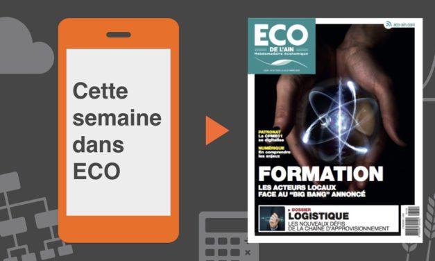 Votre magazine ECO de l'Ain du 15 mars 2018