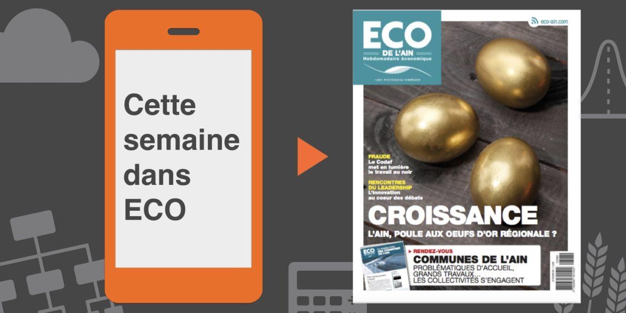 Votre magazine ECO de l'Ain du 8 mars 2018