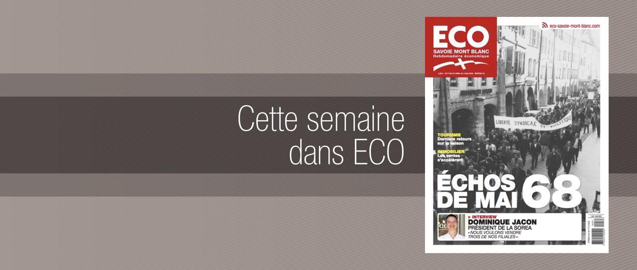 Votre magazine ECO Savoie Mont Blanc du 27 avril 2018