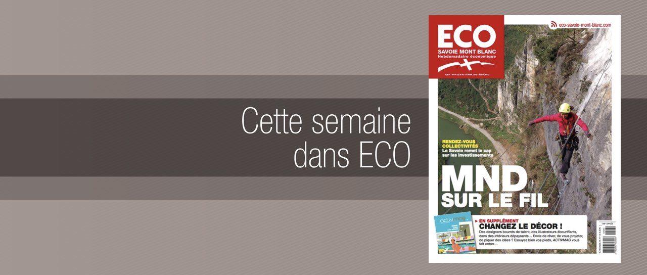 Votre magazine ECO Savoie Mont Blanc du 6 avril 2018