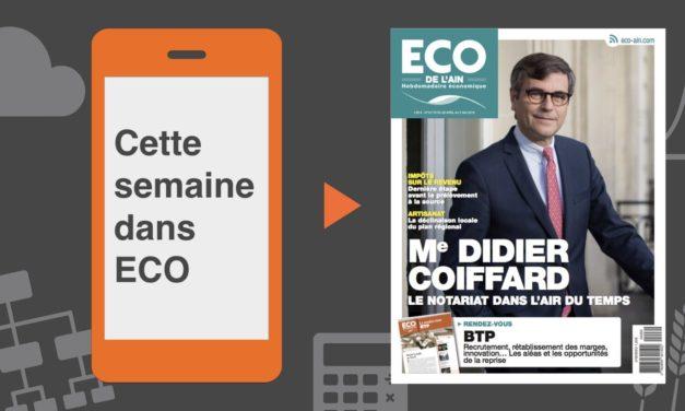 Votre magazine ECO de l'Ain du 26 avril 2018