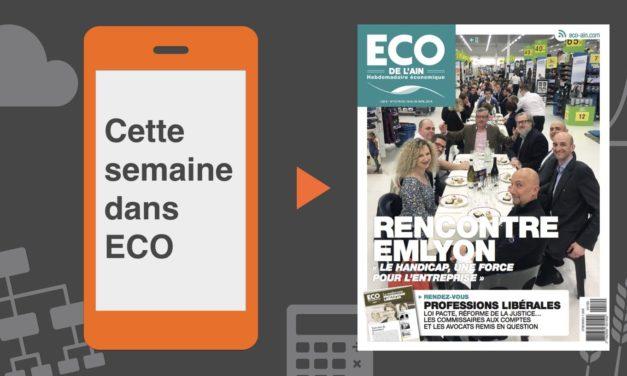Votre magazine ECO de l'Ain du 19 avril 2018