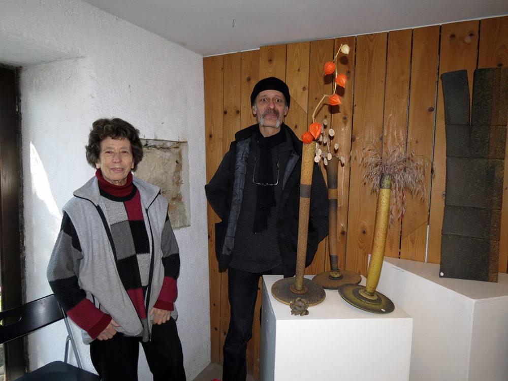 Renée et Guillaume Pillards, artisans d'art, potiers