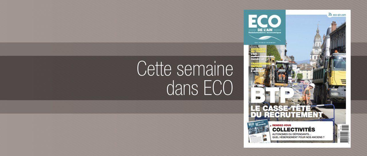 Votre magazine ECO de l'Ain du 17 mai 2018
