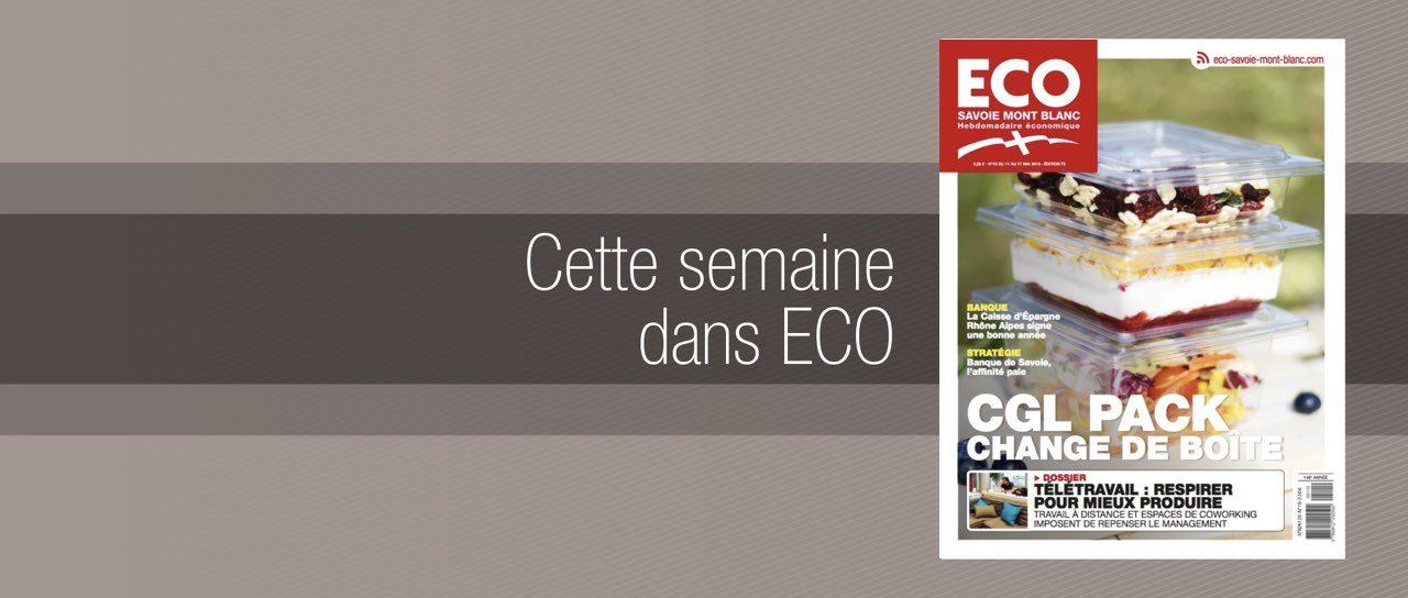 Votre magazine ECO Savoie Mont Blanc du 11 mai 2018