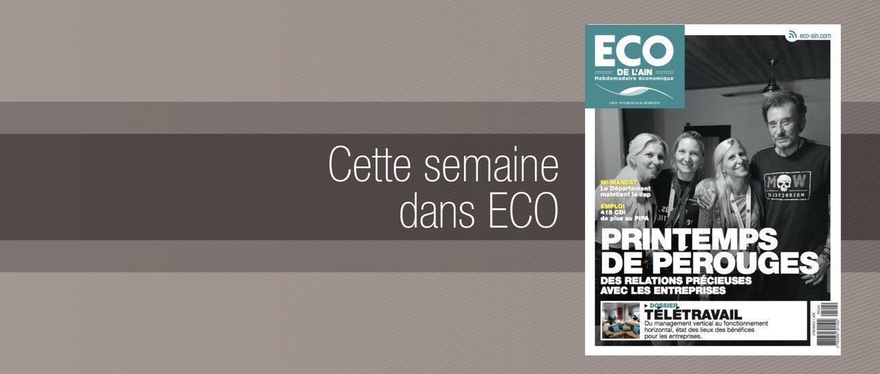 Votre magazine ECO de l'Ain du 24 mai 2018