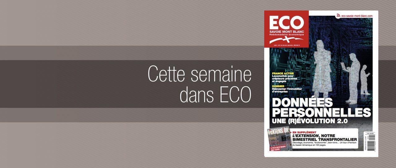 Votre magazine ECO Savoie Mont Blanc du 25 mai 2018