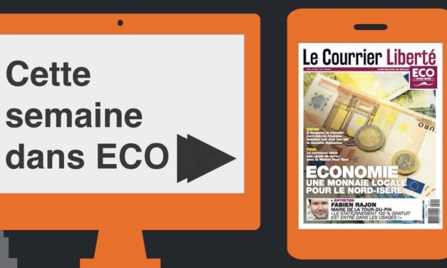 Votre magazine ECO Nord Isère du 11 mai 2018