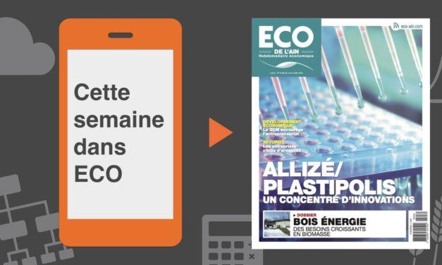 Votre magazine ECO de l'Ain du 3 mai 2018