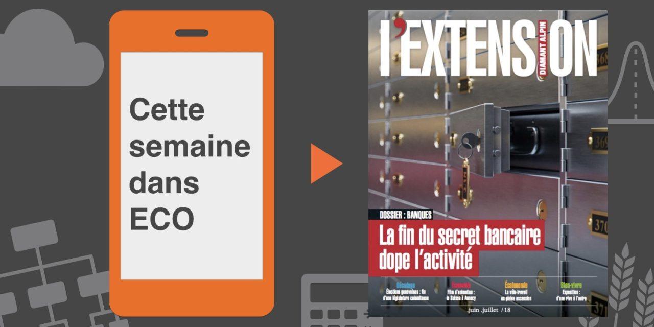 Votre magazine L'EXTENSION de juin 2018
