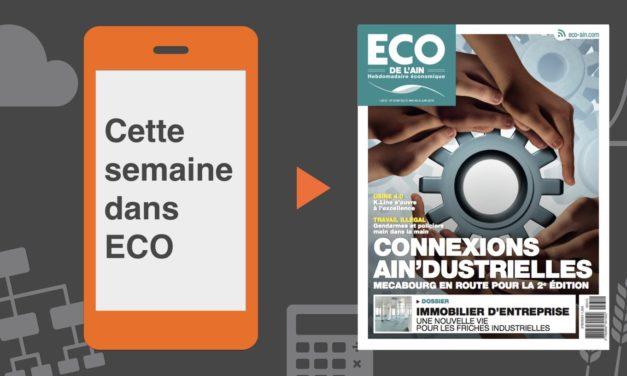 Votre magazine ECO de l'Ain du 31 mai 2018