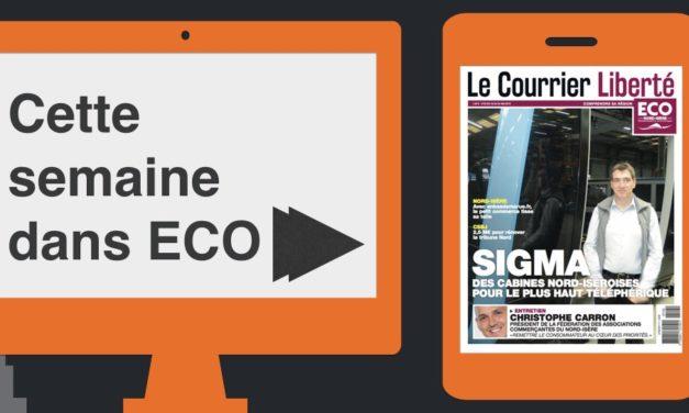 Votre magazine ECO Nord Isère du 18 mai 2018