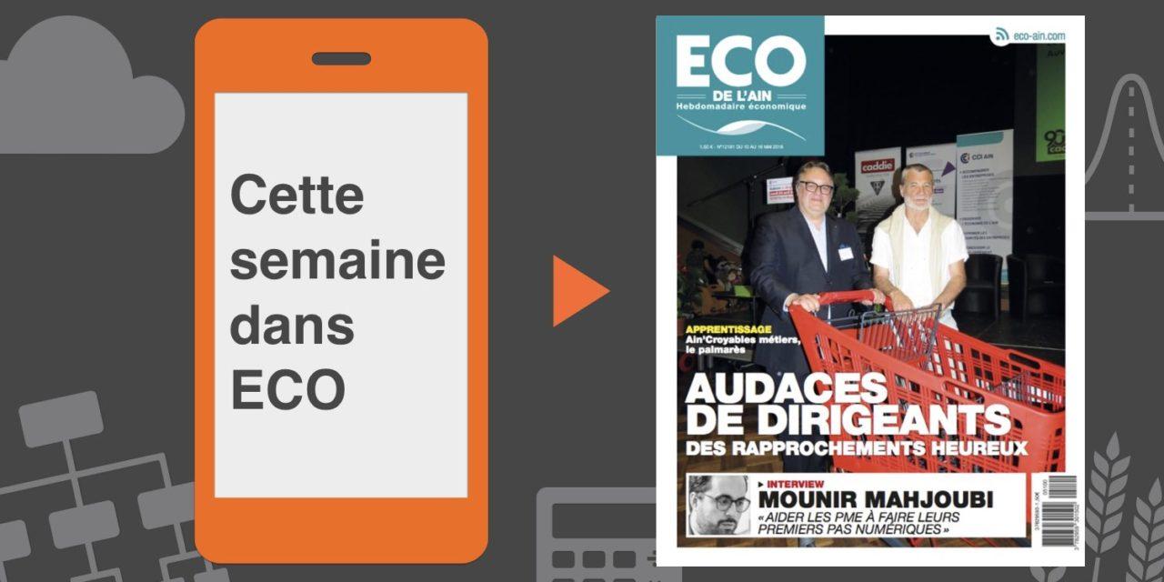 Votre magazine ECO de l'Ain du 10 mai 2018